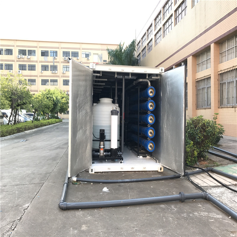 JNDWATER Economic Type Water  Desalination Equipment Seawater Desalination Machine