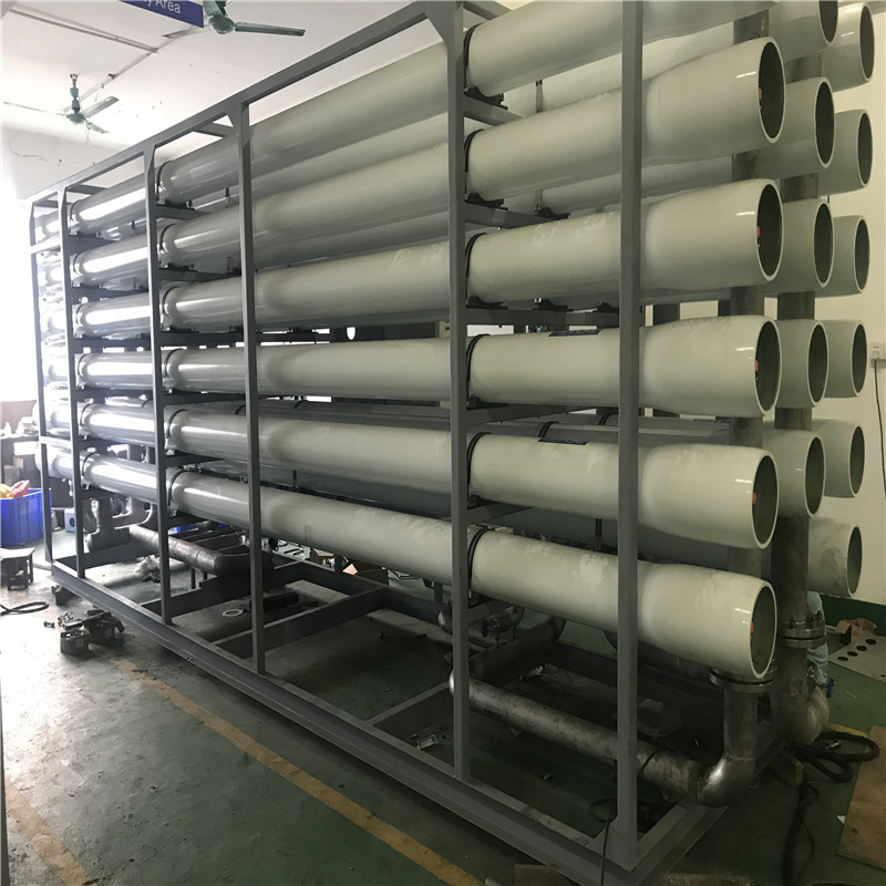 JNDWATER Seawater Desalination Machine Seawater To Drinking Water Machine