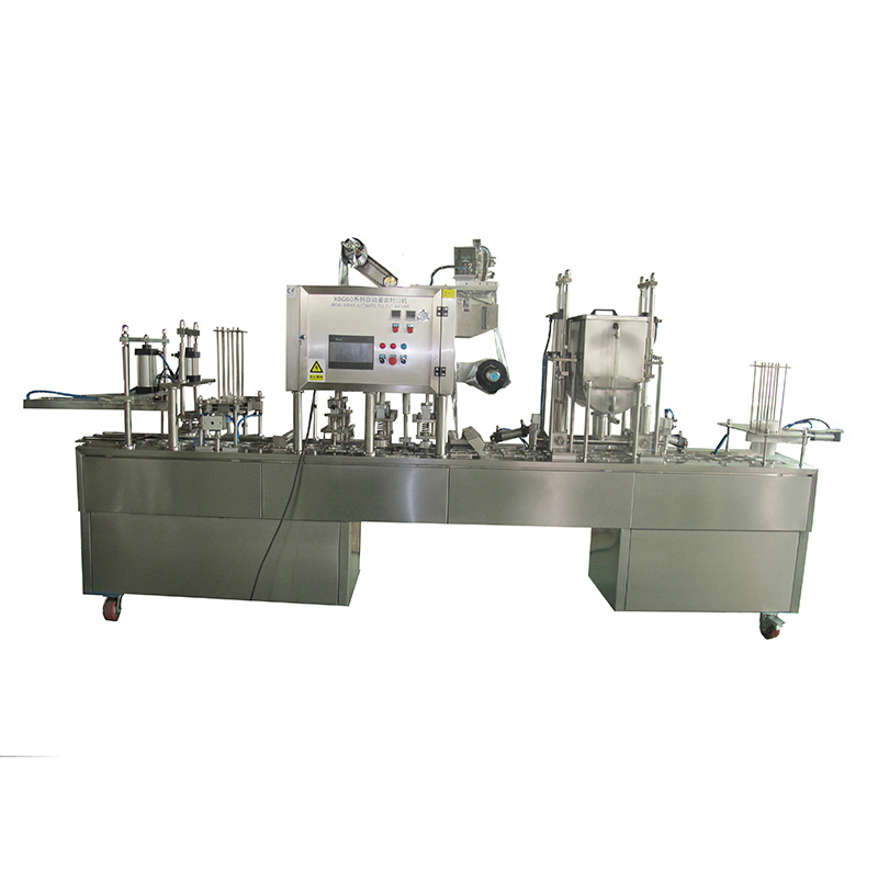 JNDWATER Plastic Cup Automatic Cup Filling and Sealing Machine
