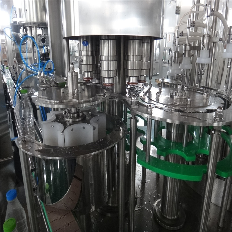 JNDWATER Low Vacuum Bottle Filling Machine Water Bottling Machine