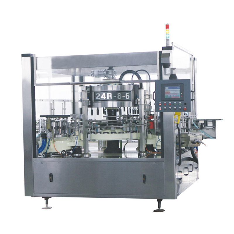 JNDWATER Automatic Cold Glue Bottle Labeling Machine Sticker Labeling Machine