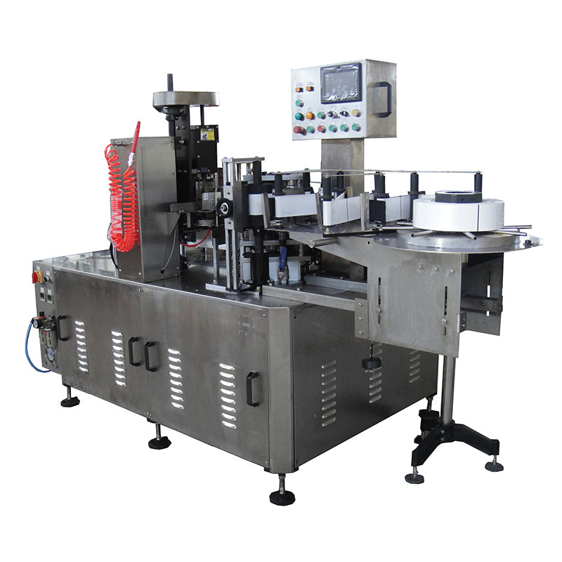 Auto Shrinkable Sleeve Label Inserting Machine JNDWATER(Double Heads)