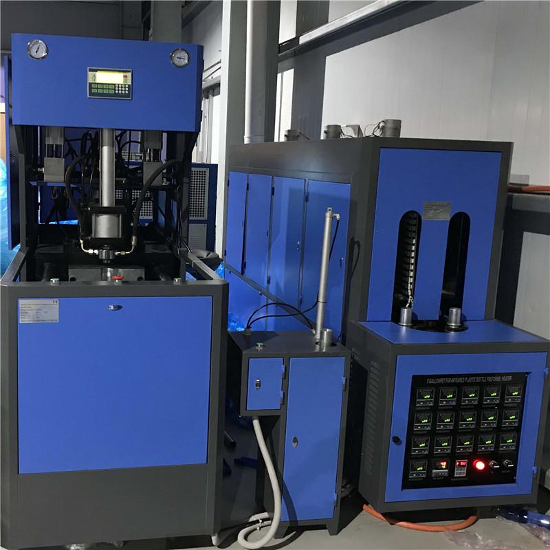 4&5&6 Gallon JNDWATER Semi Automatic Plastic Bottle Blowing Machine