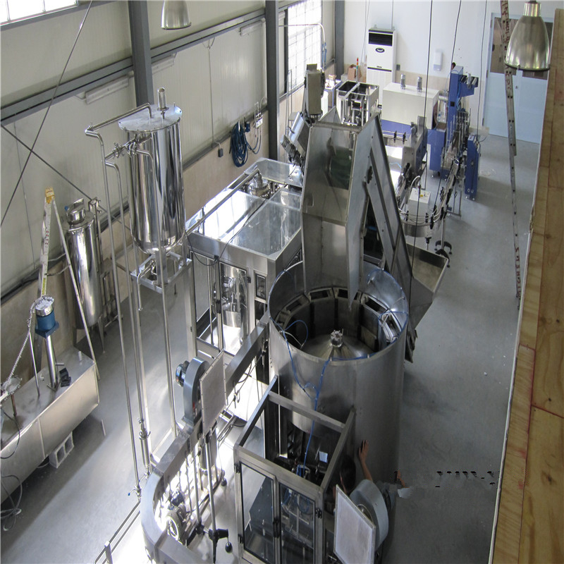 Automatic JNDWATER Hot Drink Washing/Filling/Capping Machine