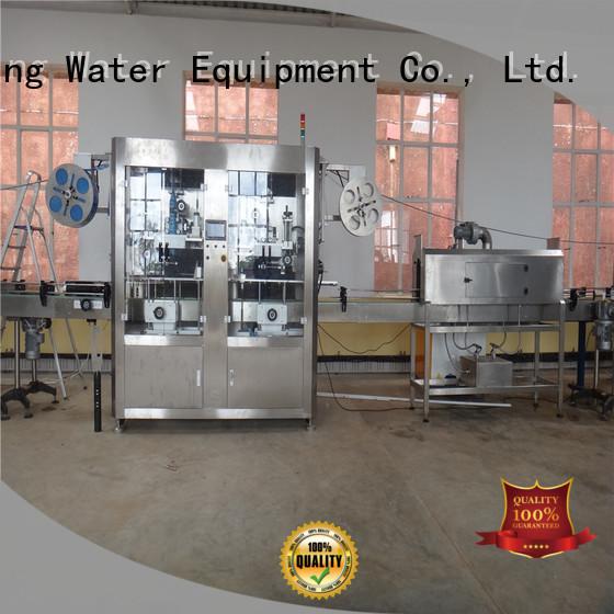 inserting Custom label sleeve labeling machine machine J&D WATER