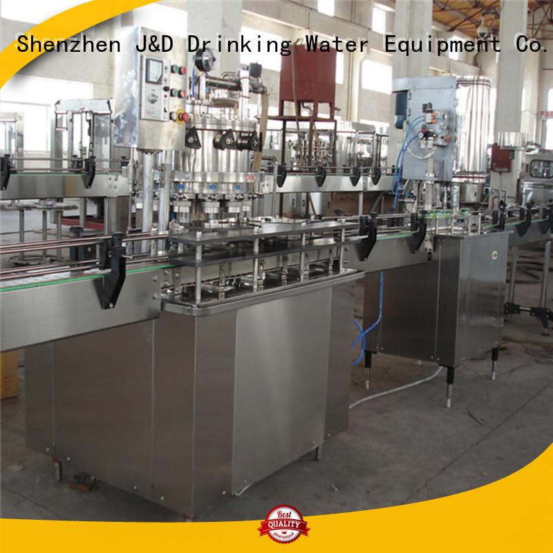 Wholesale sealing tin can sealing machine J&D WATER Brand