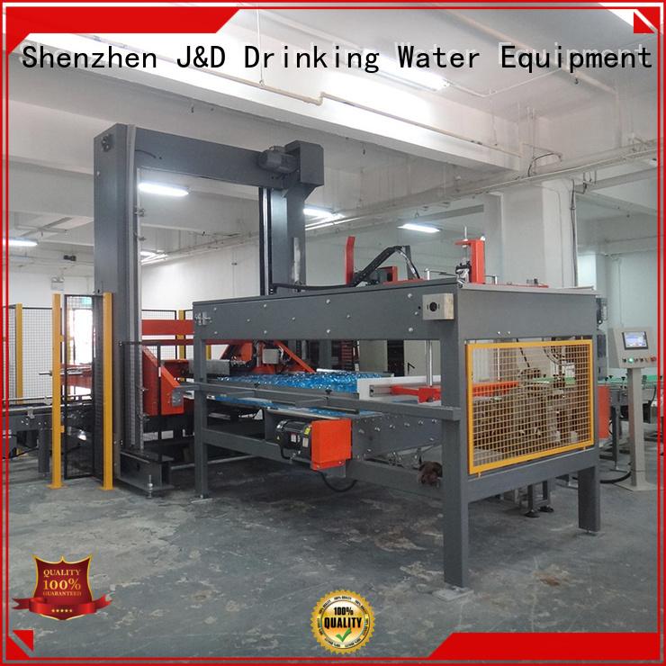 J&D WATER Brand automatic can depalletizer depalletizer supplier