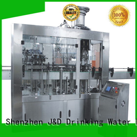 machine filling carbonated J&D WATER Brand automatic bottle filling machine manufacture