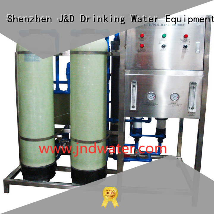 mineral water filter machine price water mineral mineral water plant machinery equipment J&D WATER Brand