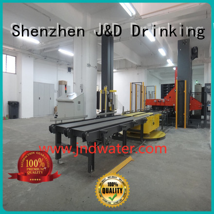 pallet pallet shrink wrap machine wrapping J&D WATER company