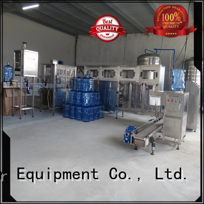 Hot machine water bottling machine prices filling J&D WATER Brand