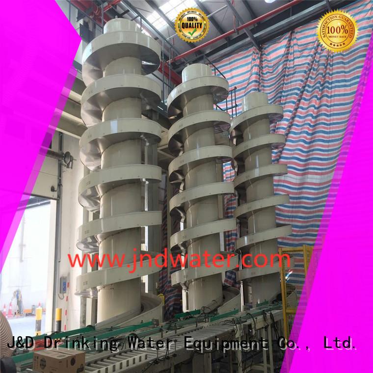 gravity roller conveyor roller water conveyorjd J&D WATER Brand company