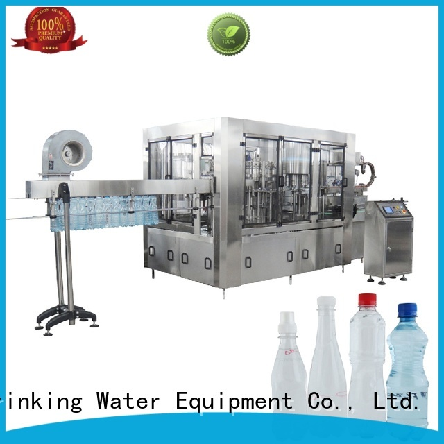 J&D WATER Brand easy beverage custom automatic bottle filling machine