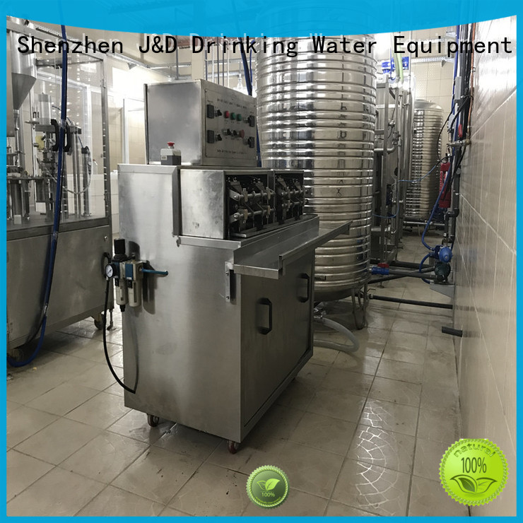 liquid automatic bag bagging machine J&D WATER Brand