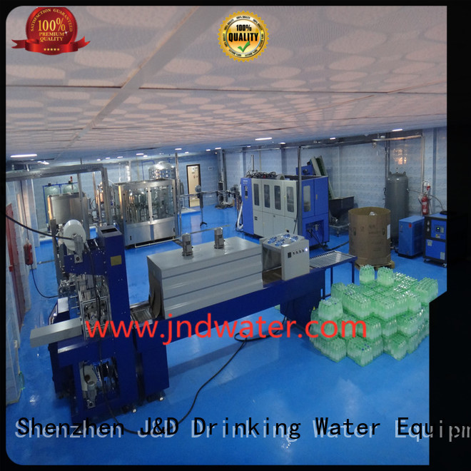 machine packing automatic shrink packing machine J&D WATER Brand