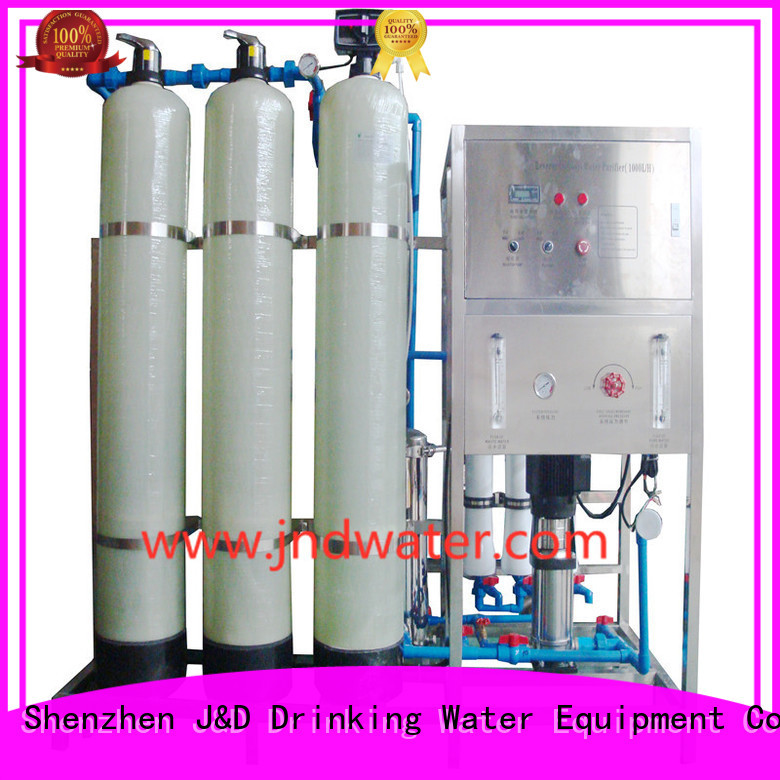 Hot ro machine treatment J&D WATER Brand