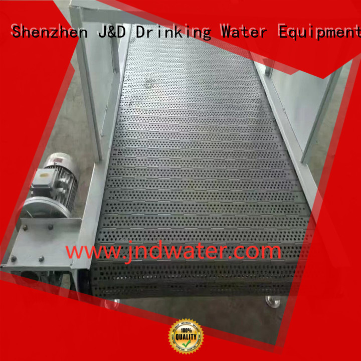 chain conveyor belt belt stainless chain conveyor chain J&D WATER Brand