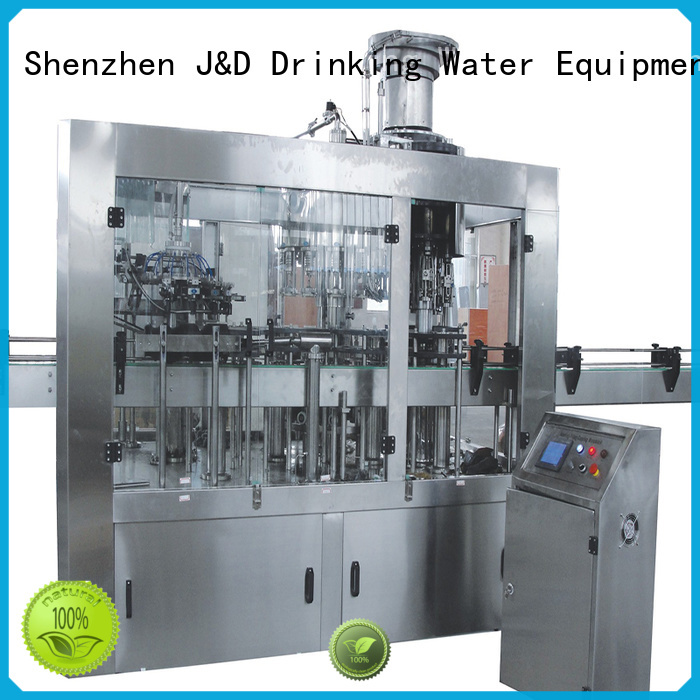 fully sale automatic bottled bottle capping machine J&D WATER