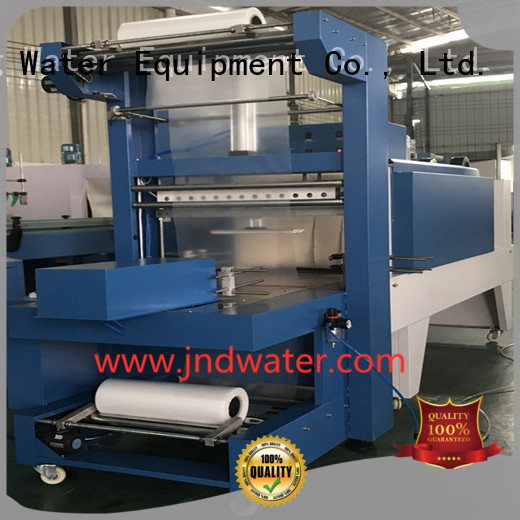 Quality J&D WATER Brand automatic semiauto shrink packing machine