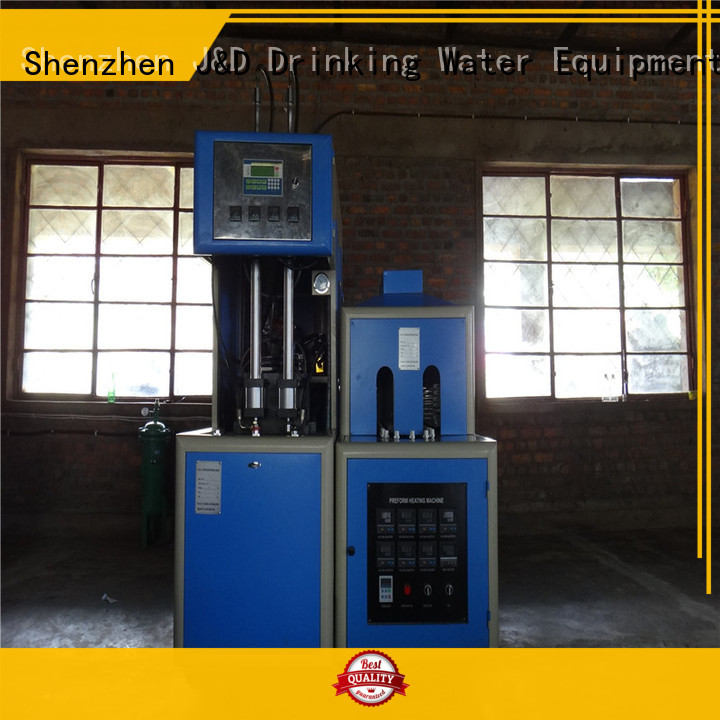 J&D WATER Brand stretch automatic blow moulding machine reheat factory