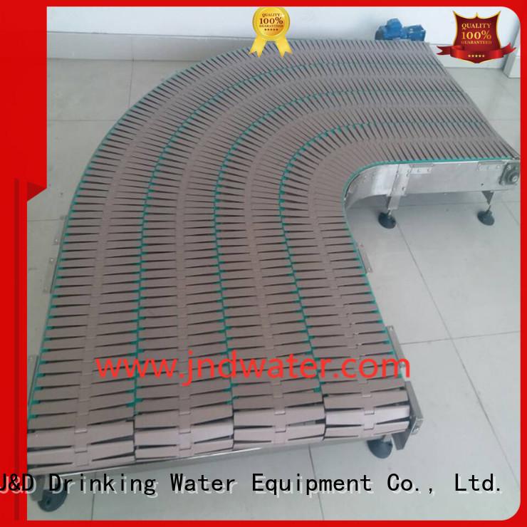 belt chain conveyor chain conveyor stainless J&D WATER Brand