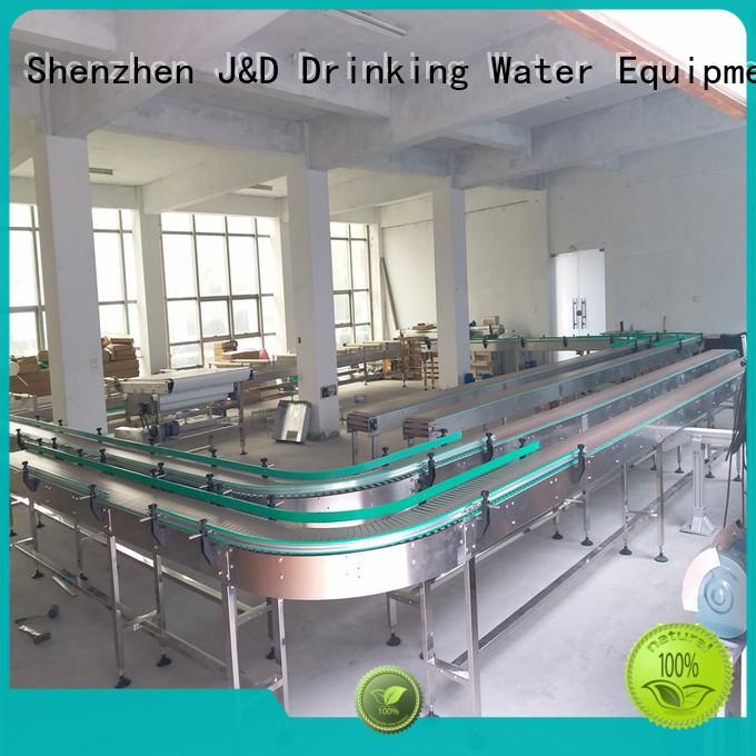 stainless material chain conveyor conveyor J&D WATER Brand