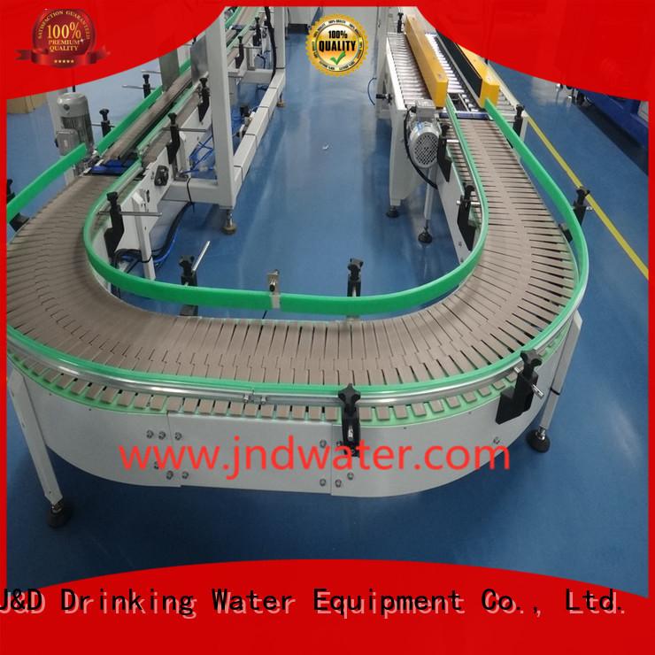 chain conveyor belt belt conveyor stainless J&D WATER Brand chain conveyor