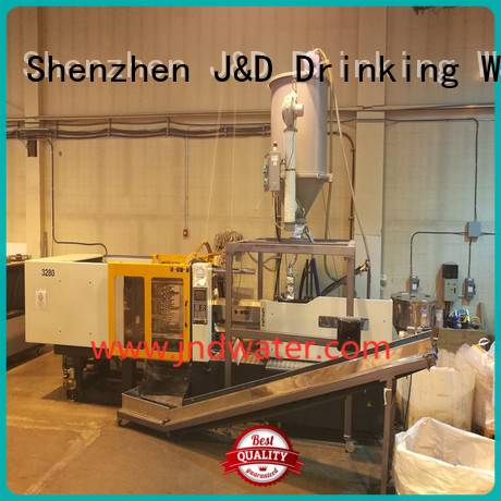 cap machine J&D WATER Brand plastic injection moulding machine manufacturers factory