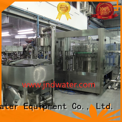 automatic bottle filling machine beverage bottle capping machine J&D WATER Brand