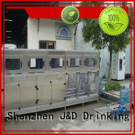 water bottling machine prices bottling J&D WATER Brand bottling equipment