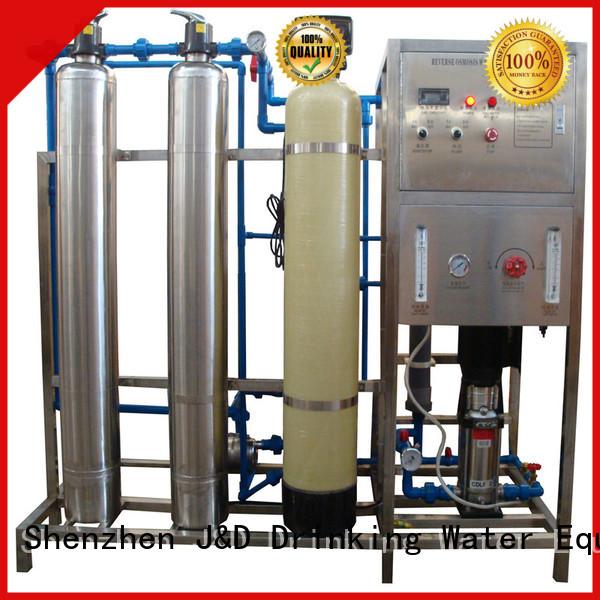 J&D WATER Brand water treatment reverse ro machine