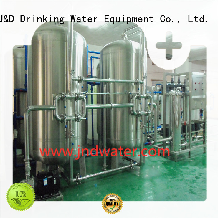 Wholesale water mineral water filter machine price treatment J&D WATER Brand