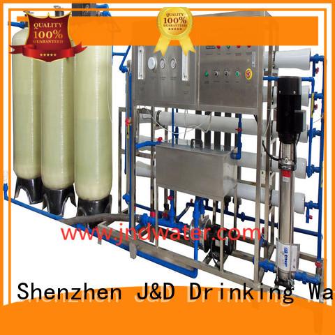 water reverse treatment osmosis ro water machine J&D WATER Brand