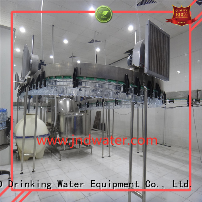 air air conveyor systems bottle J&D WATER company