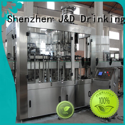 automatic bottle filling machine carbonated fully Warranty J&D WATER