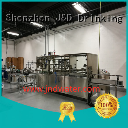 filling machine bottle filling equipment J&D WATER Brand