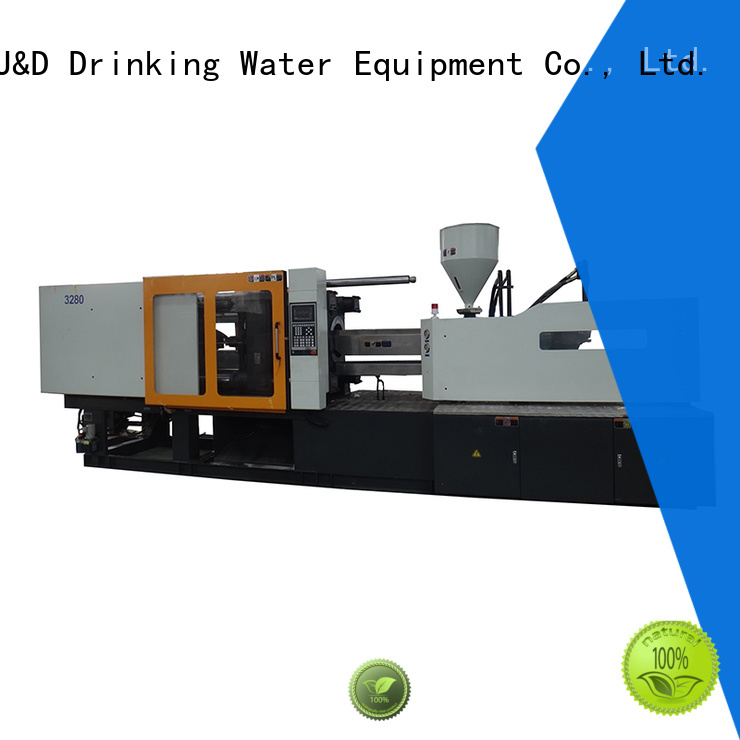 Hot plastic molding company molding J&D WATER Brand