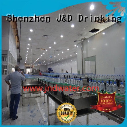 Hot chain conveyor stainless J&D WATER Brand