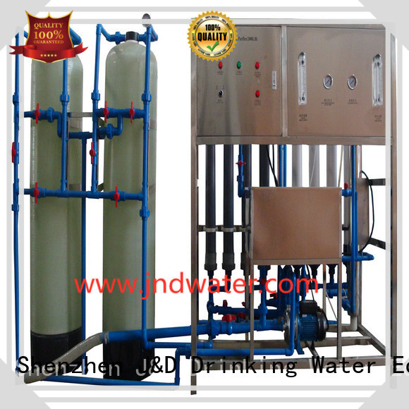 mineral water filter machine price equipment mineral J&D WATER Brand company