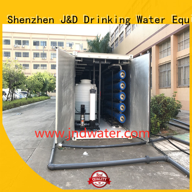 desalination seawater machine machine desalination filter J&D WATER