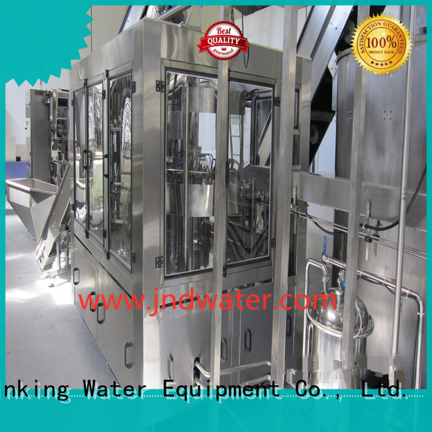 machine beverage carbonated bottle capping machine J&D WATER Brand company