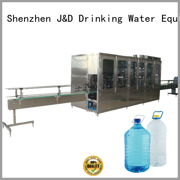 washing moulding injection stretch blow molding machine filling J&D WATER company