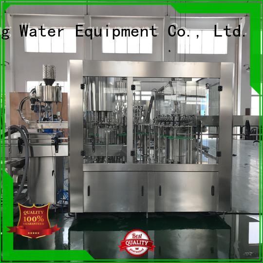 automatic bottle filling machine automatic easy beverage Warranty J&D WATER