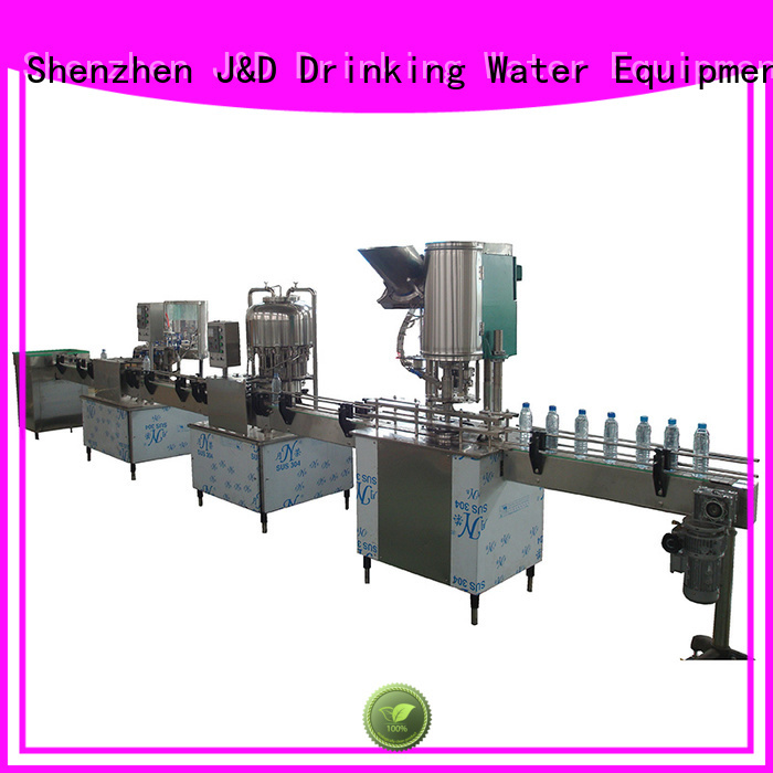Quality J&D WATER Brand automatic bottle filling machine machine