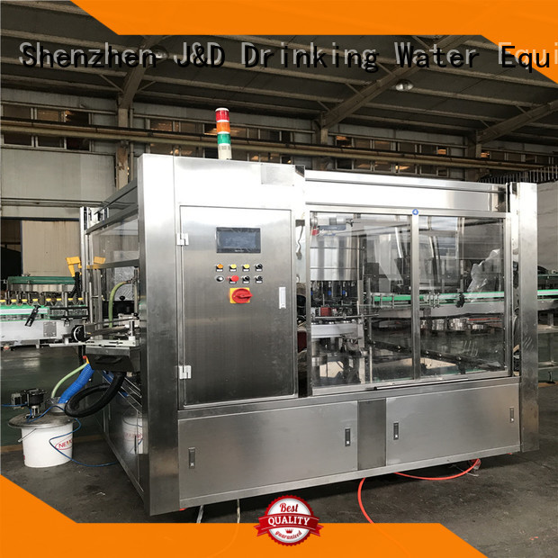 Wholesale automatic bottle labeling machine J&D WATER Brand