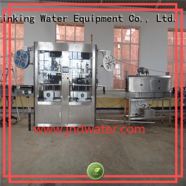 bottle labeling machine manufacturers sleeve machine sleeve labeling machine J&D WATER Brand