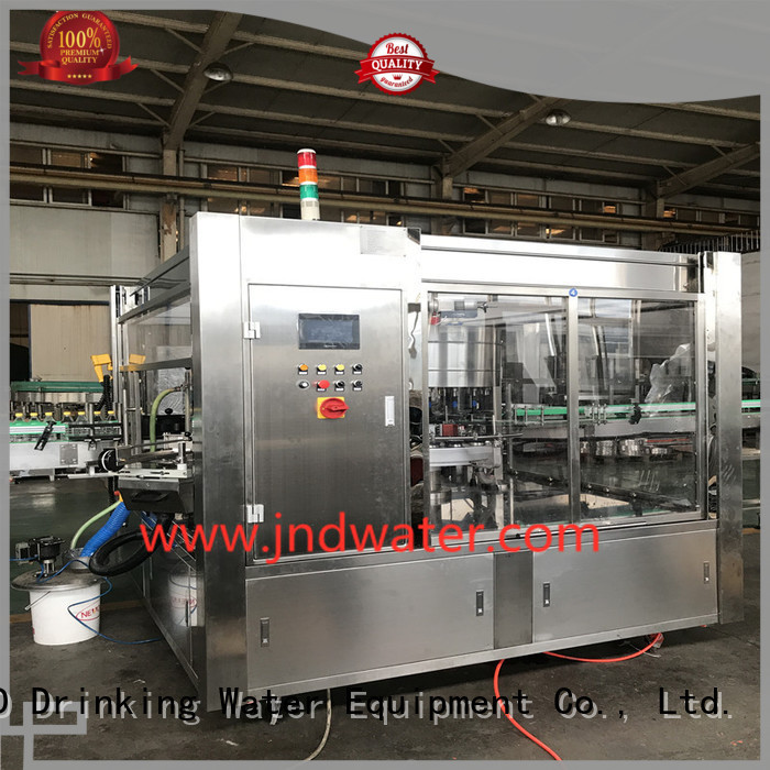 machine labeling glue J&D WATER Brand labeling machine manufacturer factory