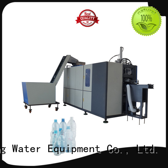 Wholesale bottle semi automatic pet blowing machine price J&D WATER Brand