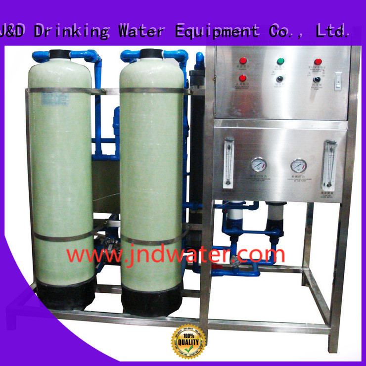 treatment equipment OEM mineral water plant machinery J&D WATER