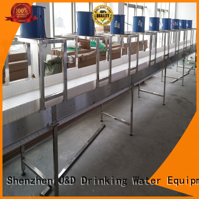 Quality J&D WATER Brand steel chain conveyor